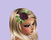 Purple Glamour hair rose