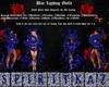 Blue Lighting AlienHeels