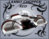 Lambo Chopper Red & Blk