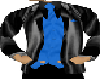 Black silk Coat and tie