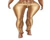Pants Gold Leather