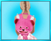 Pink Teddy Bear Backpack