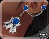 ! XMAS Earrings SilvBlue