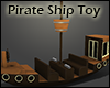 +Pirate Ship Statue+