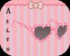 Kids pink sunglasses