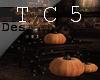 Halloween deco table