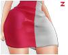 Z   Vinyl Skirt Pink W M