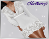 Winter Knit Dress White