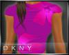 flower pink t-shirt