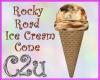 C2u~ Rocky Road Cone