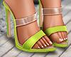 🤍 Stylish  Neon Heels
