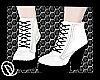 White/Black- Nubuck