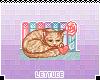 Kitten Study Badge