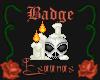 Light Magic Candle Badge