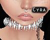 |Diamond Spiked Collar|