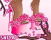 Fluffy Platforms Pink