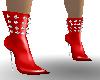 ! sB spike boots ruby
