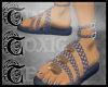 TTT Shell Plait Sandal b
