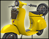 +Scooter version2+Yellow