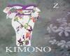 Kimono Purple Rose