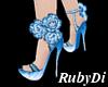 Sapphire Rose Shoe