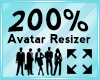 Avatar Scaler 200%