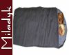 MLK Gray D Sleep bag