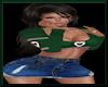 SportyGirl Green/DkBlue