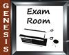 Ebony Exam Room Sign