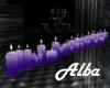 ! AA - Purple Candles