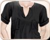 !NC Baggy Shirt Black