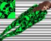 -NM- Grn/Skull Footy Pjs