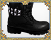 ☽ studded boots m
