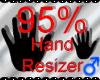 *M* Hand Scaler 95%
