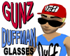 @ Duffman Opaque Glasses