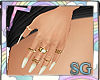 SG Nails Pearl + Rings