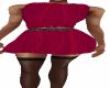 Red Tie Shirt Skirt