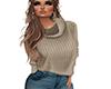COZY Tan Sweater