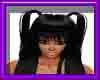 (sm)black ponytails styl