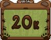 U. Support Sticker 20K