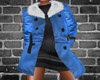 Fur Coat ~ Indigo