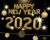 New Year 2020 Gold