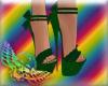 St. Patrick's Day Heels