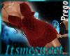 Mia Prego Dress - Red