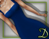 [D] Pencil Dress, blue