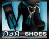 *NoA*Mod Boots Blk Blue