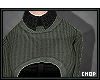 x: Old Green Sweater