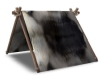 Fur Draped Tent