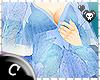 .C Blue Kaftan