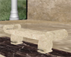 Greek Marble Bench